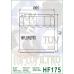 Φίλτρο λαδιού Hiflofiltro HF175