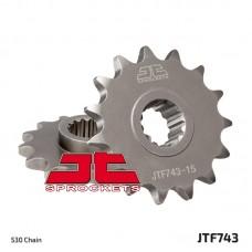 Γρανάζι εμπρόσθιο JT JTF743-15