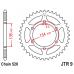 Γρανάζι οπίσθιο JT  JTR9-47 ατσάλινο C-49